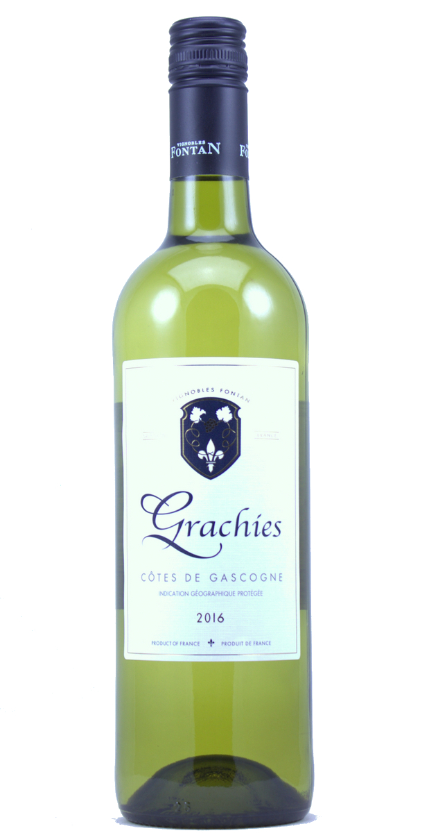 Grachies Blanc sec, IGP Côtes de Gascogne Merel Foundation