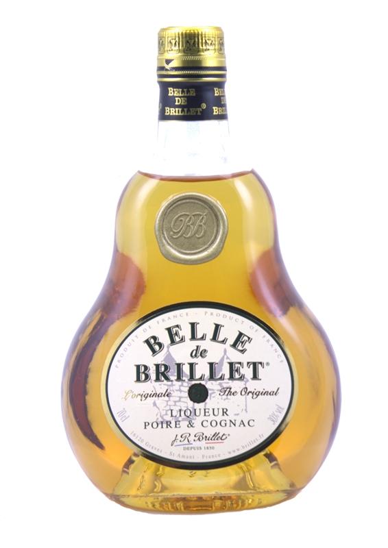Belle de Brillet, Liqueur Poire & Cognac, 70 cl