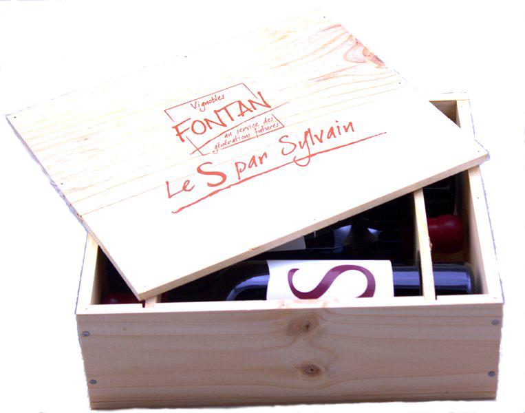 Vignobles Fontan, Cuvée S Tannat, kist met 3 flessen