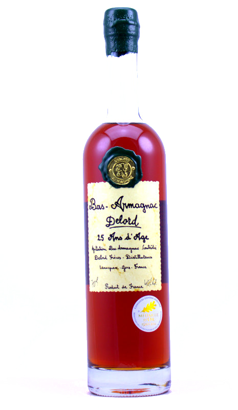 Bas-Armagnac, Delord - 25 years old/25 Ans d'Age - 70 cl
