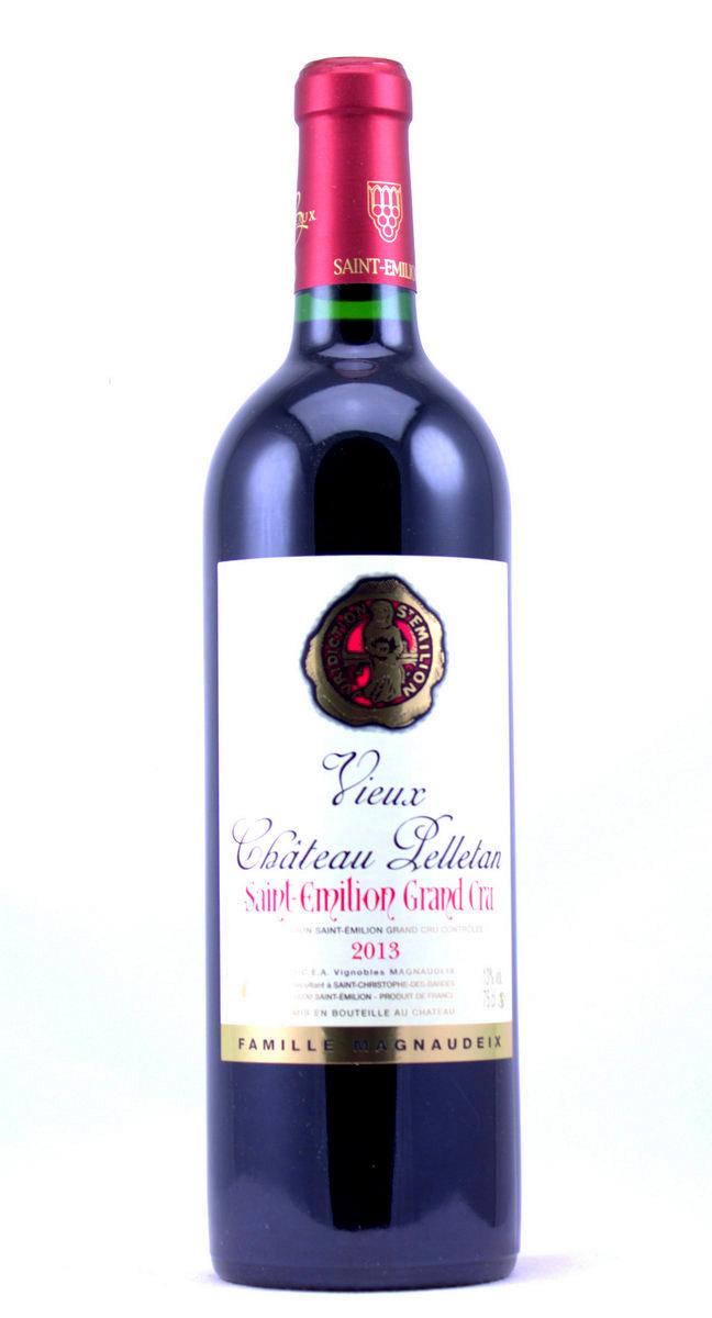 Saintmilion Grand Cru Vieux Chteau Pelletan