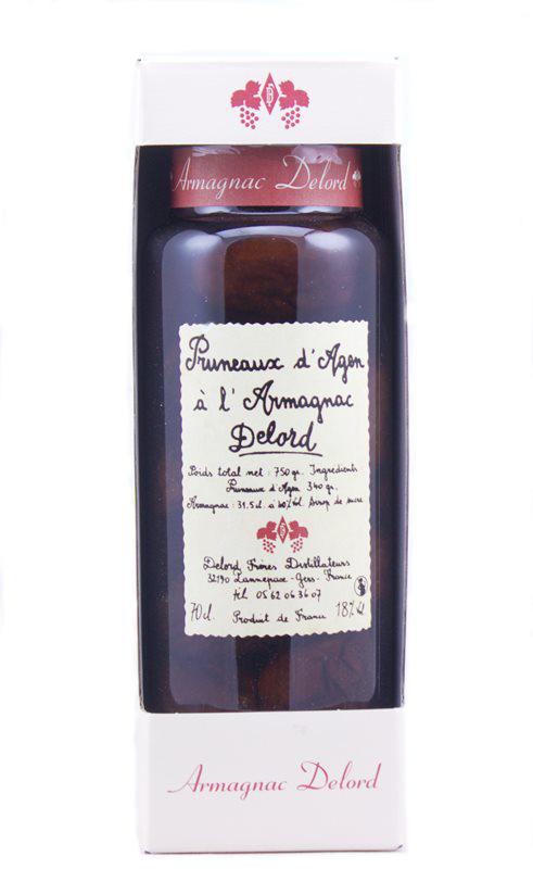 Delord, Pruneaux d'Agen à l'Armagnac (pruimen op armagnac)