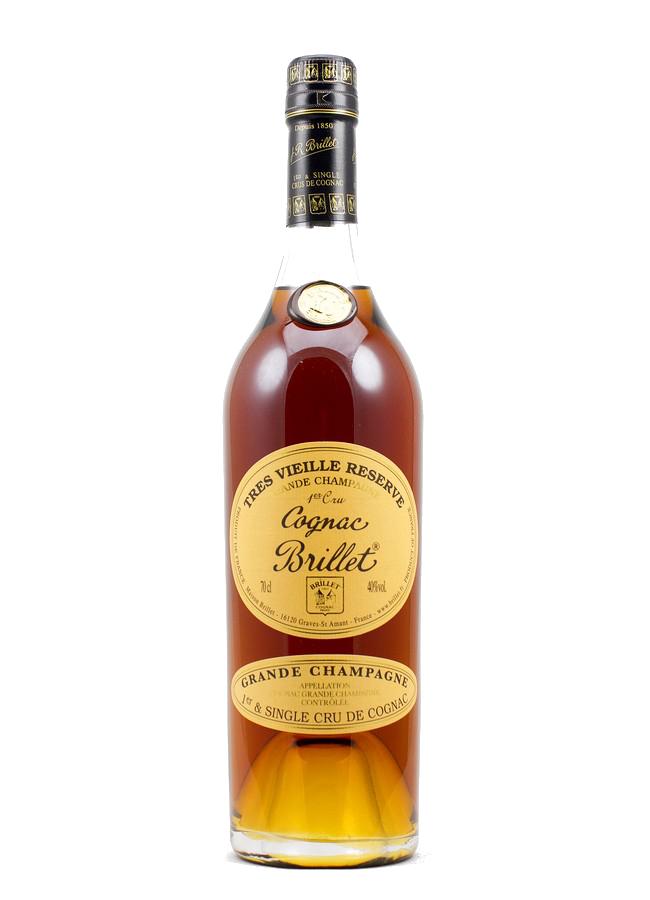Maison JR Brillet, 1er & Single Cru de Cognac, Grande Champagne Cognac, Très vieille Réserve***  XO